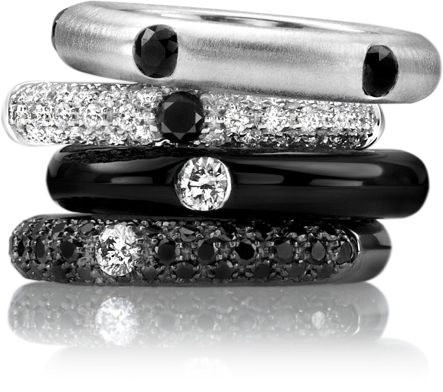 juwelier kruzik adolfo courrier bianco & nero