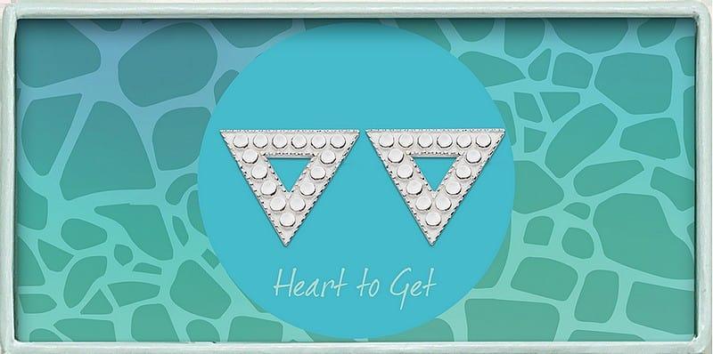 silber ohrstecker geometrisches dreieck klassiche kollektion heart to get ea239tri17s800px