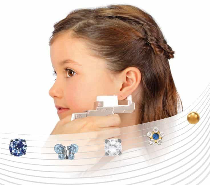perçage oreilles